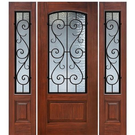 1 Panel Arch Lite St Charles 1 2 In 2018 About Doors