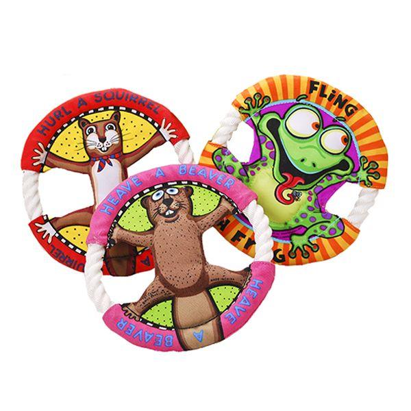 Yani Pt2 Perros Perro De Dibujos Animados Frisbee Molar Limpieza De
