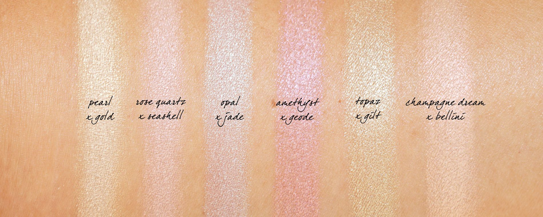Becca Light Chaser Highlighter Review Swatches The