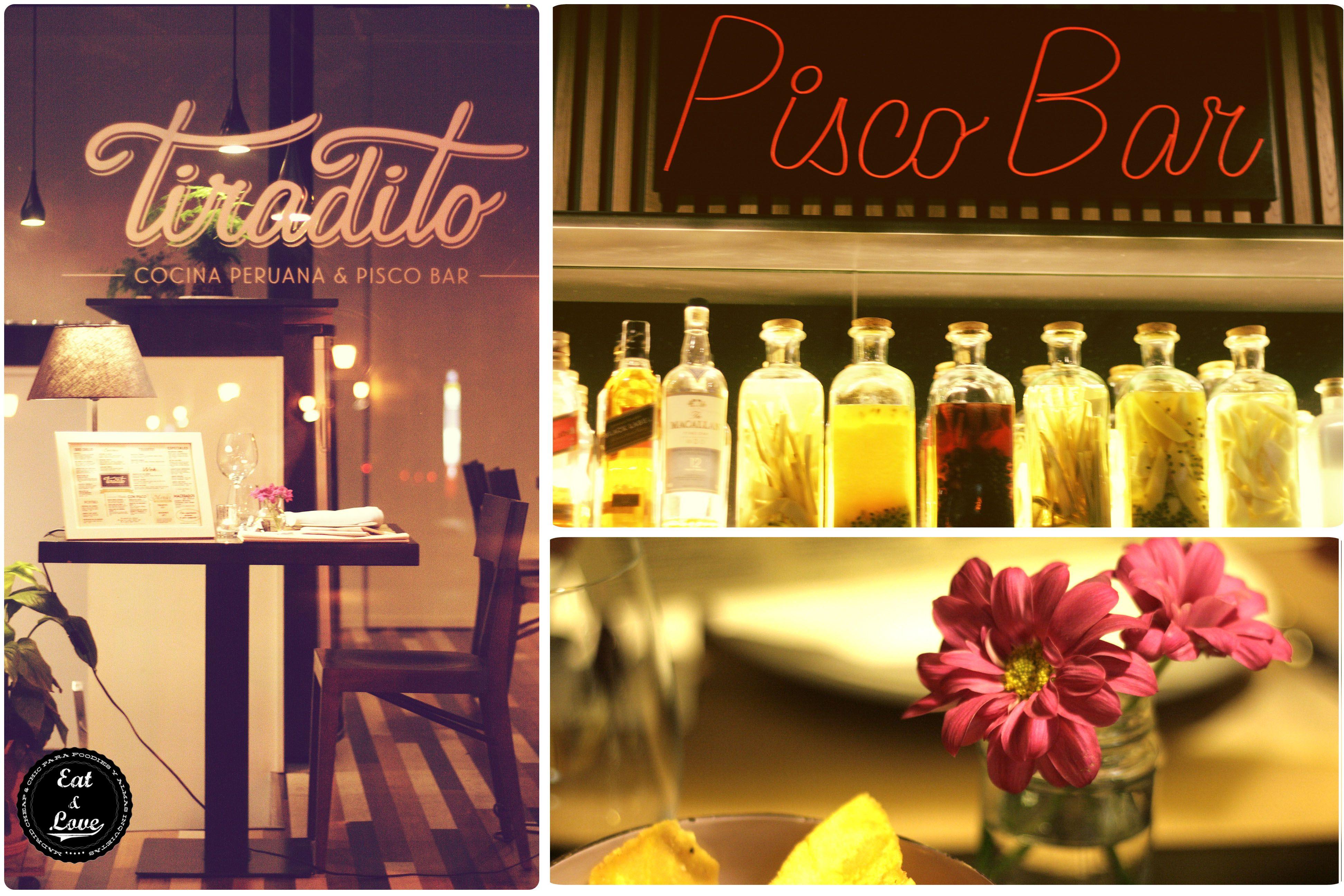 Tiradito Pisco & Bar - Restaurante peruano en Madrid