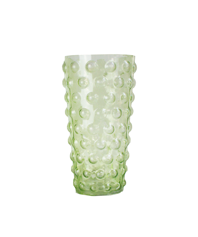 Vintage green glass bubble vase october pinterest vintage vintage green glass bubble vase reviewsmspy