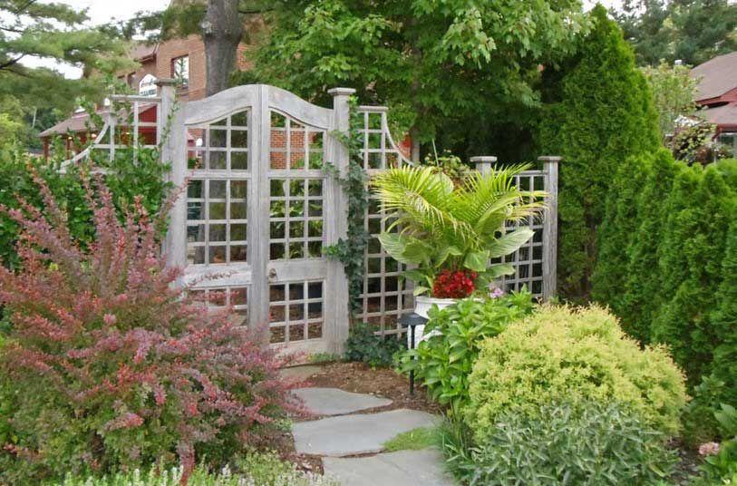 Garden gate landscaping decorative ideas for outside garden design ...