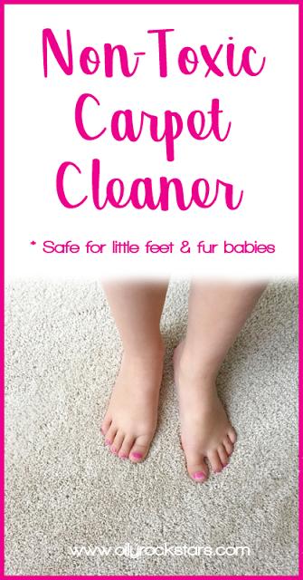 Non Toxic Carpet Cleaner Oily Rockstars Blog Posts Diy
