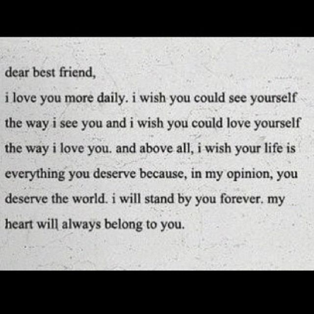 Delightful I Love My Best Friend And I Always Will! This Is How I Feel About You. Youu0027re  My Older Sister And I Will Always Be Your Younger Sister ♥