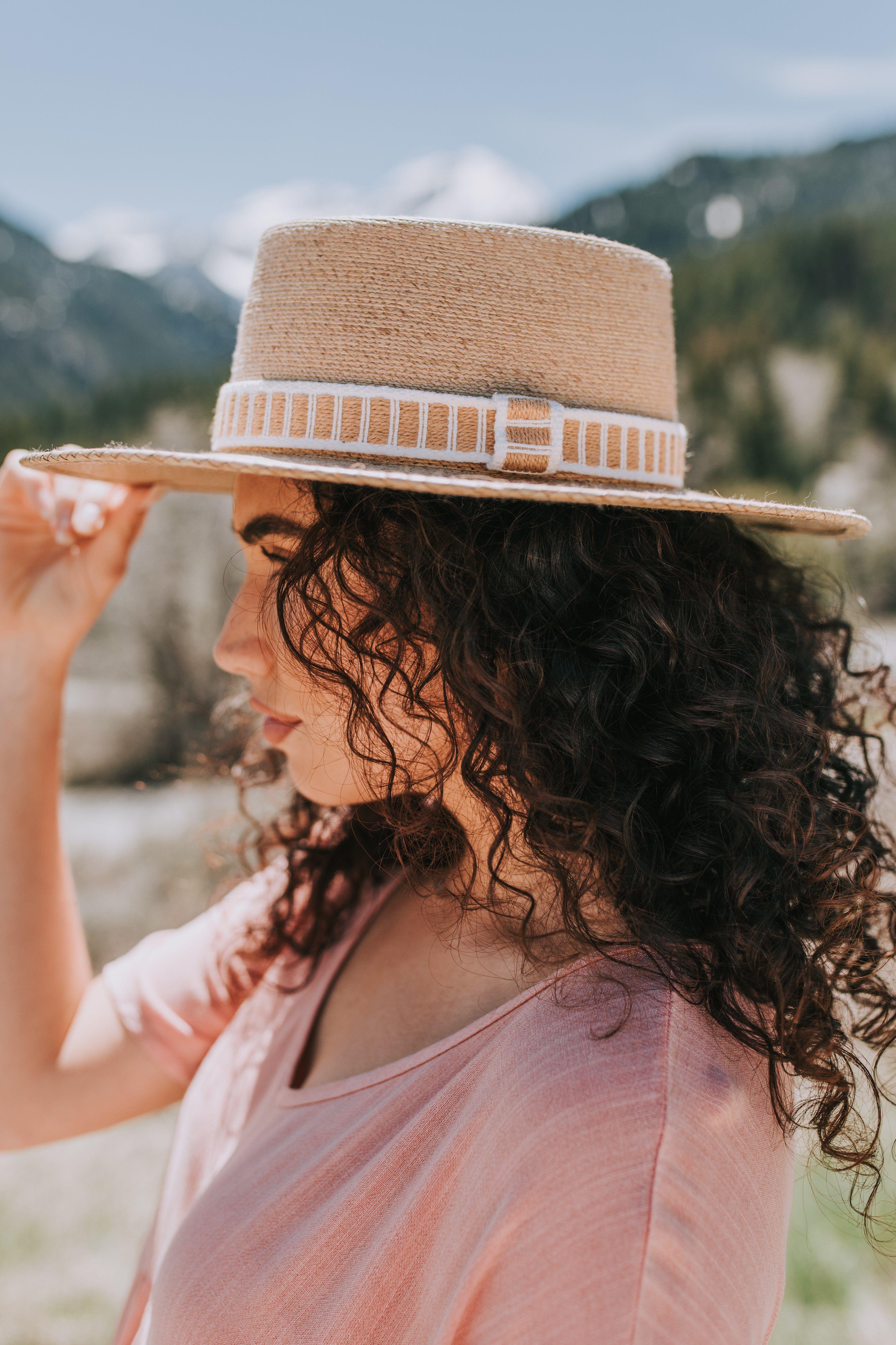 Hadley Brim Hat Brim Hat Hat Hairstyles Curly Girl Hairstyles