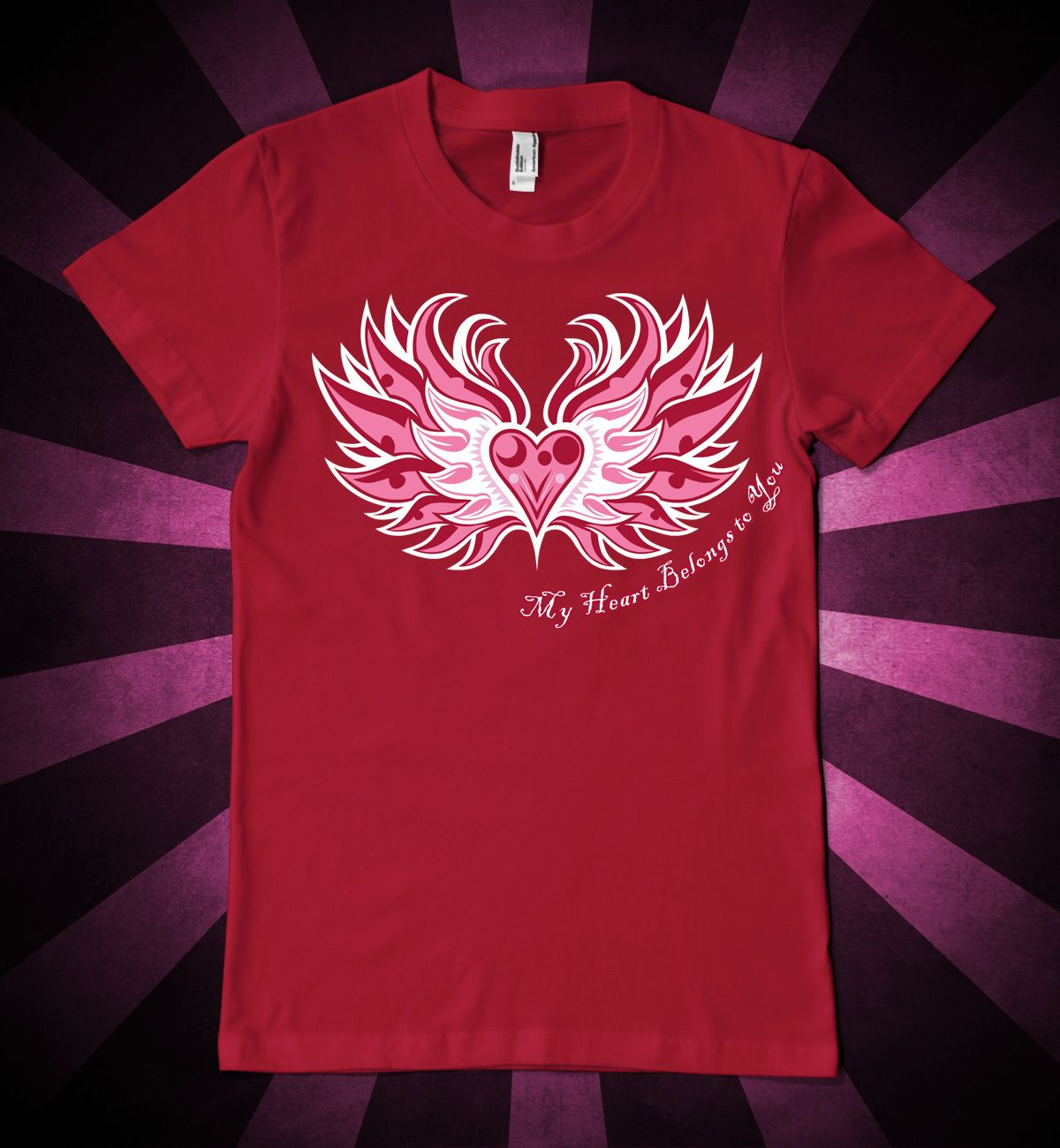 My Heart Belongs To You Valentine S Day T Shirt Design Valentine S
