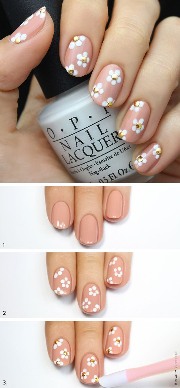Идеи для маникюра на короткие ногти фото пошагово