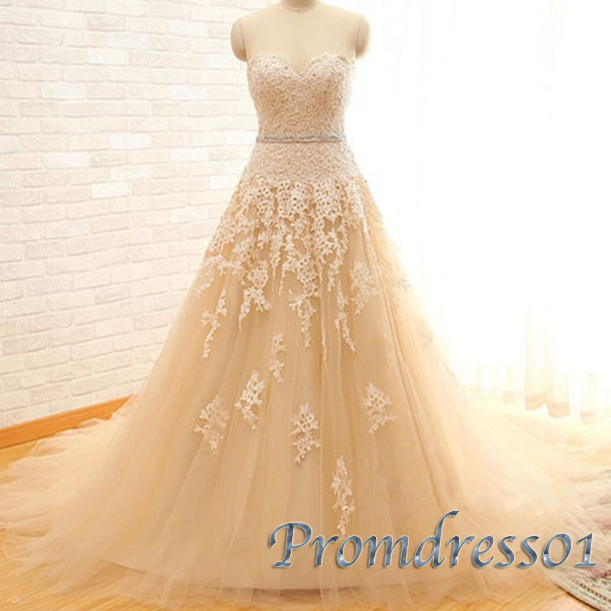 Pretty disney inspired prom dress ball gown strapless