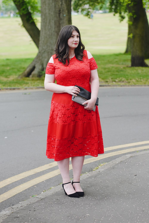 32++ Red wedding guest dress midi information
