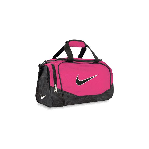cce40036e7 Nike Travel Duffle Bag ( 24) ❤ liked on Polyvore