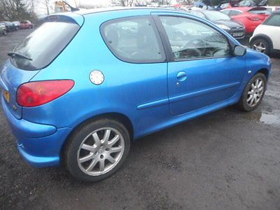 eBay: 2005 PEUGEOT 206 GTI BLUE SALVAGE DAMAGED REPAIRABLE 2.0 ...