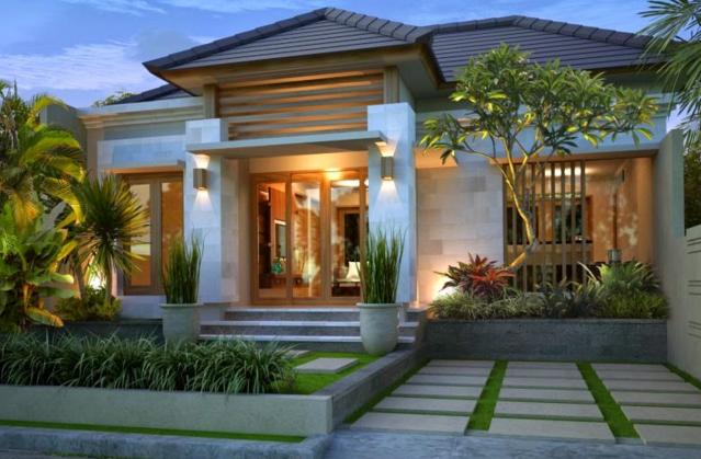 Desain Rumaha Bali Modern