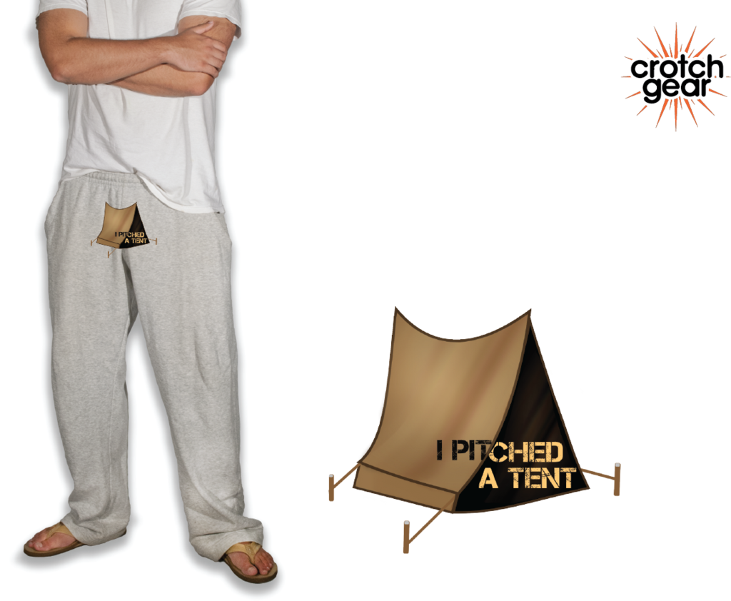 Pitch A Tent (Sweatpants)  sc 1 st  Pinterest : guy pitching a tent - memphite.com