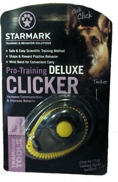 Starmark Pro Training Deluxe Clicker The Petcache Dog Clicker