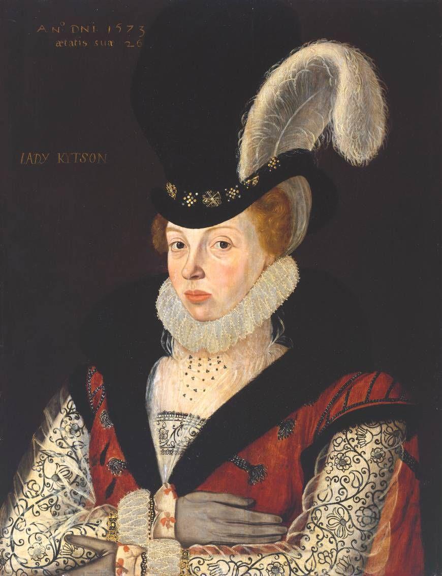1573 - Lady Kytson Artist: George Gower (c.1540‑1596) Tate Gallery