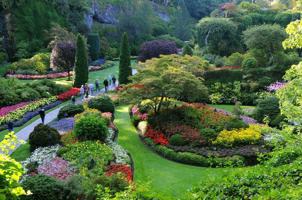 Butchart Gardens, Victoria BC #butchartgardens