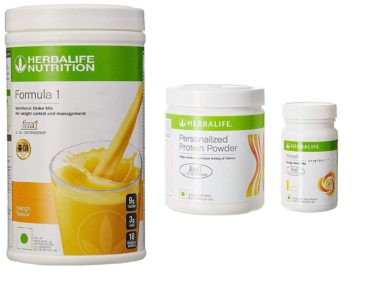 Buy Herbalife F 1 Mango F 3 Protein Powder And Afresh Lemon Online