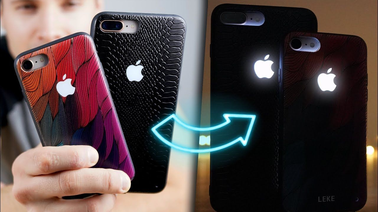 A Glowing Apple Logo iPhone Case Exists! Get a Glowing