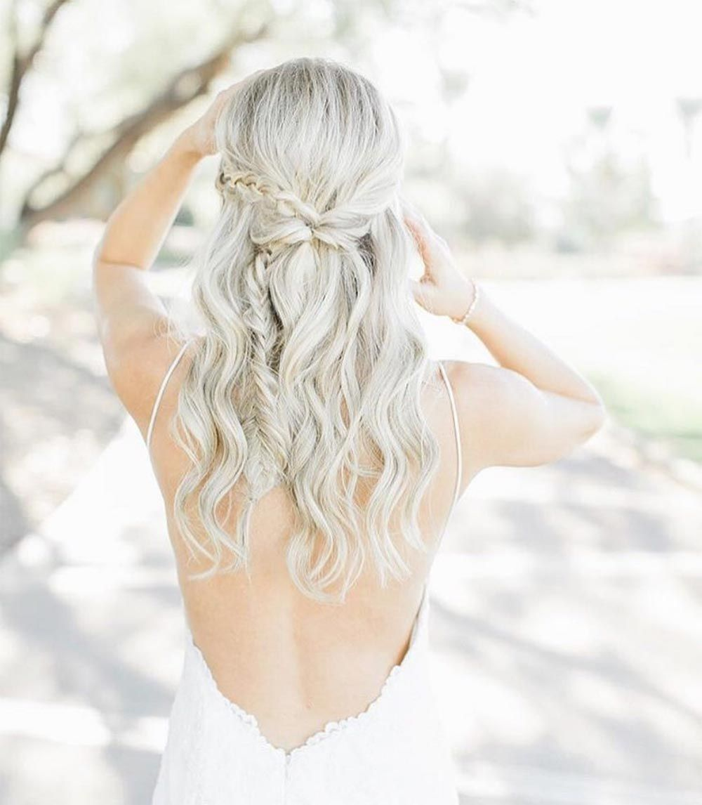 28 Braided Wedding Hairstyles For Brides with Long Hair ...