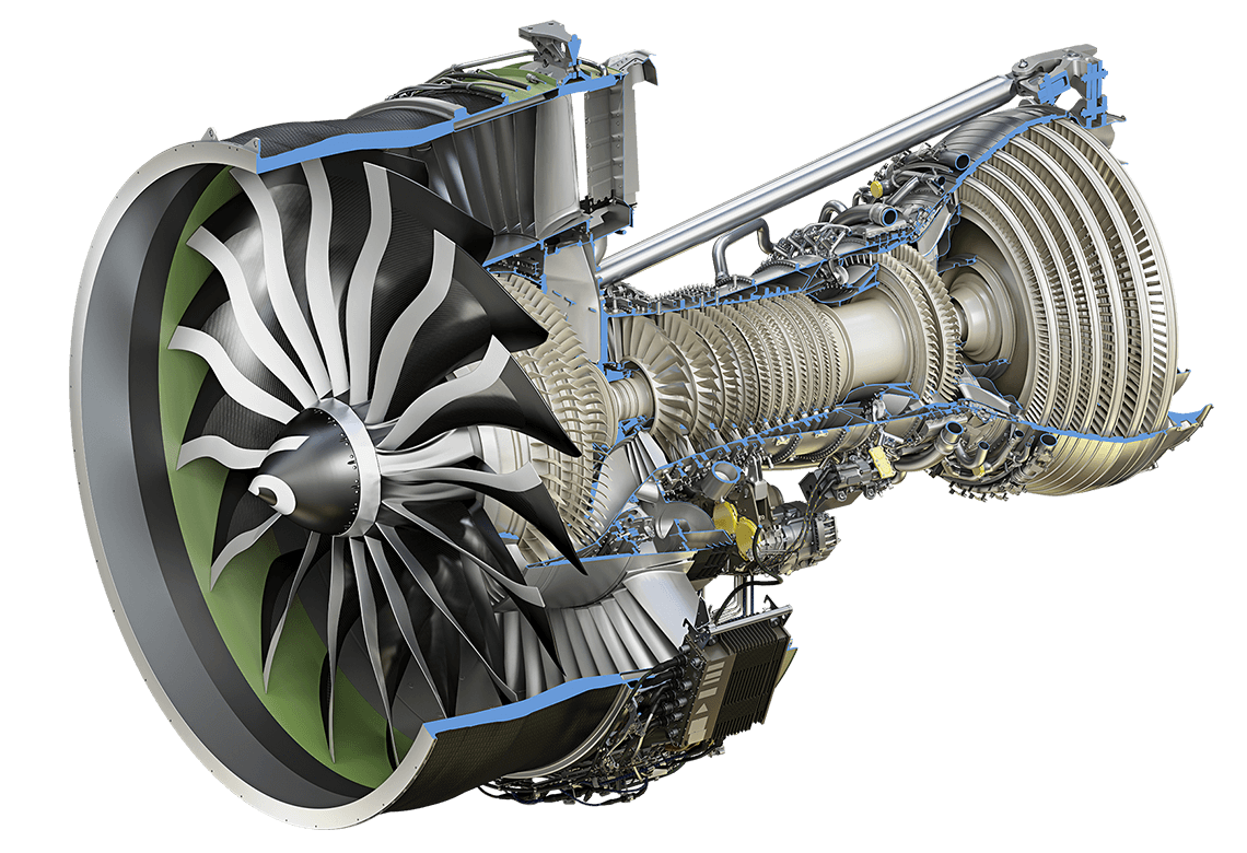 Keeping with the aircraft theme here's a GE9X the largest