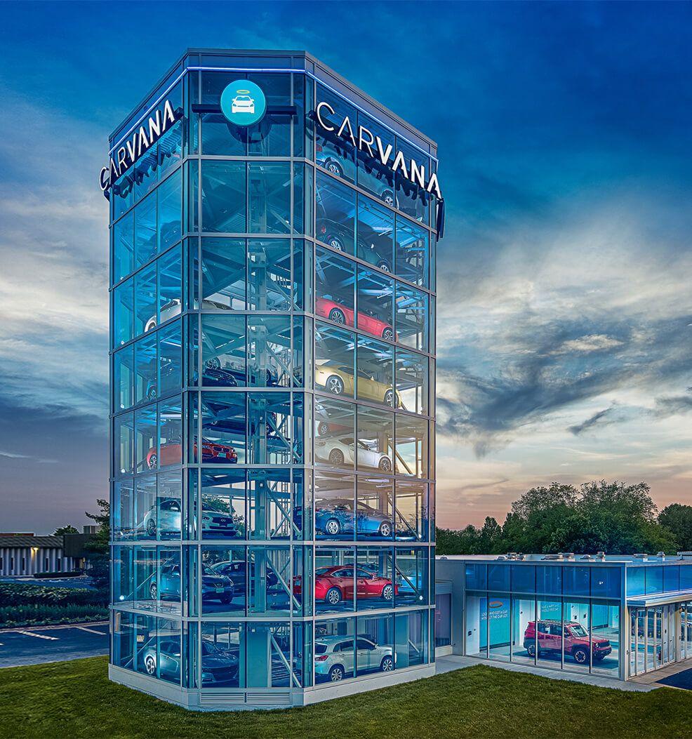 Car vending machines appearing in the U.S.... # ...
