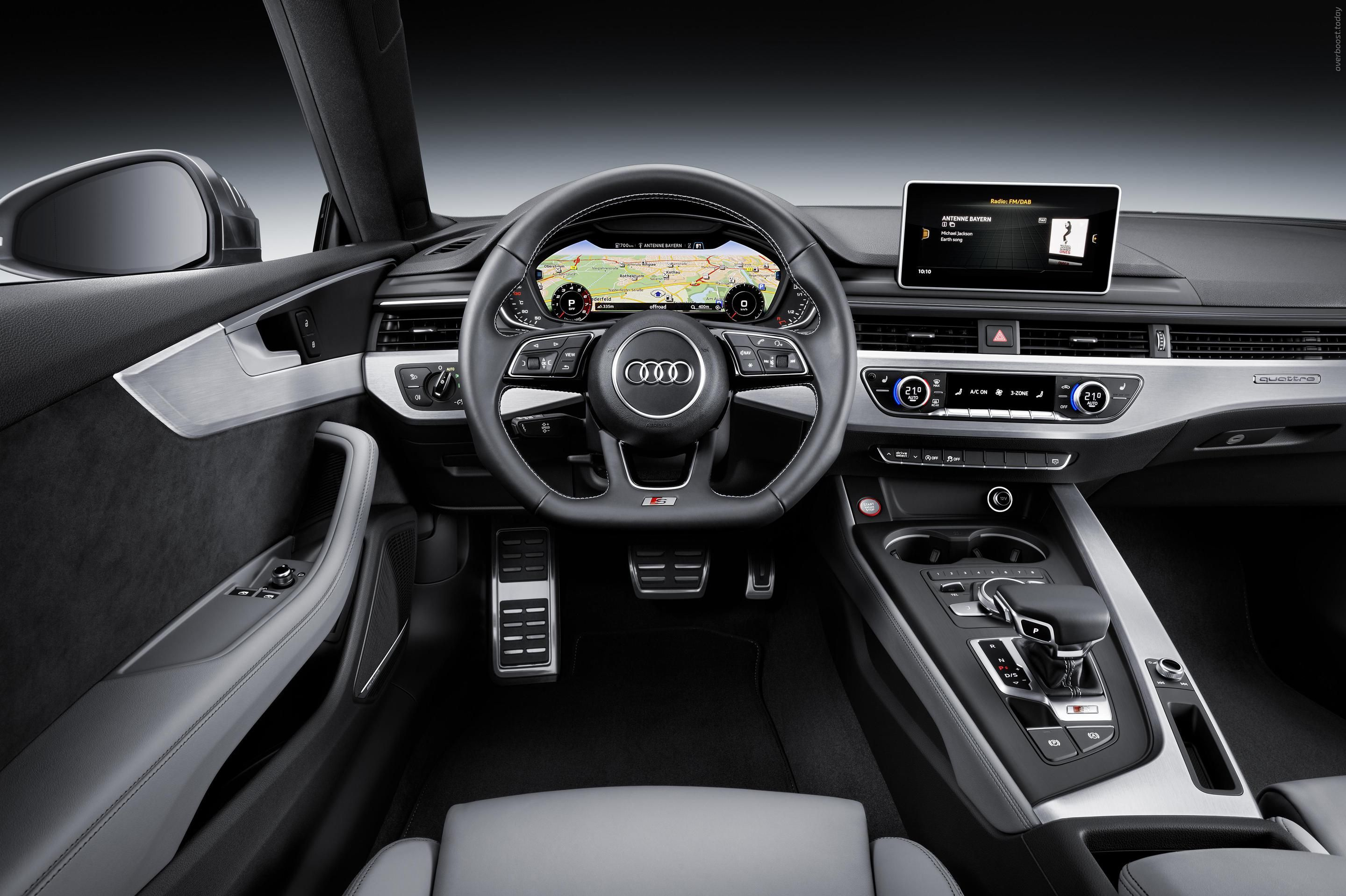 2017 Audi S5 Coupe A5 German Brands 2017my Segment S Paris 2016