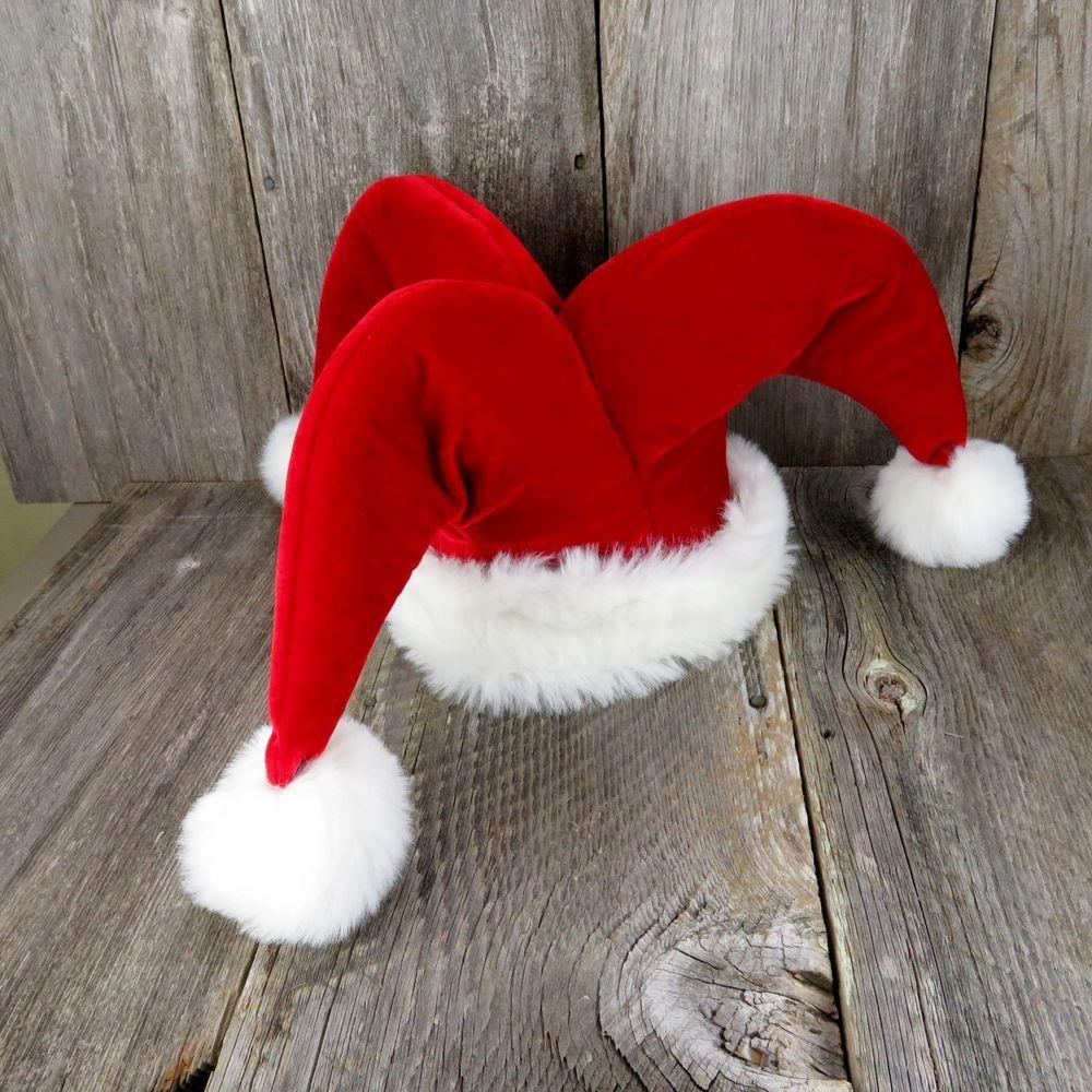 Jester Santa Claus Hat. This is a unique original Santa