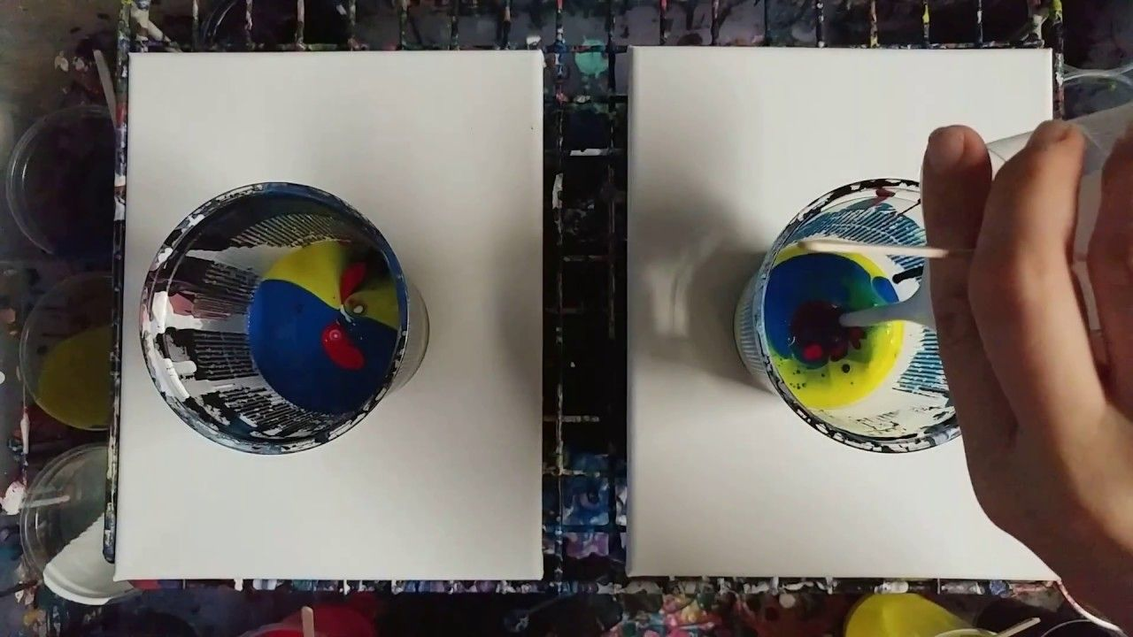 Floetrol Vs Water Surprising Results Resin Art Painting
