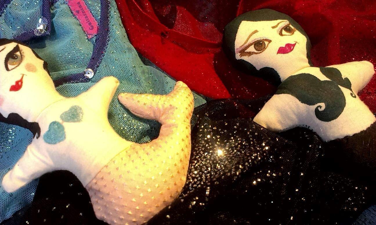 Sweet Mermaid (art dollie) by guitarnina on Etsy