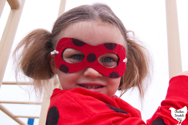 Diy Miraculous Ladybug Costume With Reversible Mask Ladybug Costume Miraculous Ladybug Costume Ladybug
