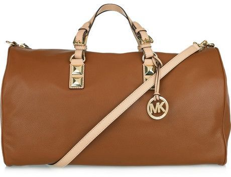 3. Michael Kors Leather Weekend Bag - 10 Fabulous Travel Bags ...