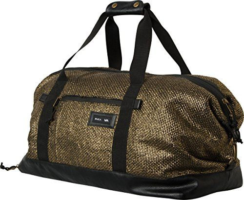 RVCA Women s Away Away Duffle Bag Gold One Size   Read more info by  clicking the link on the image.  GymBags 79a4d41348e4e