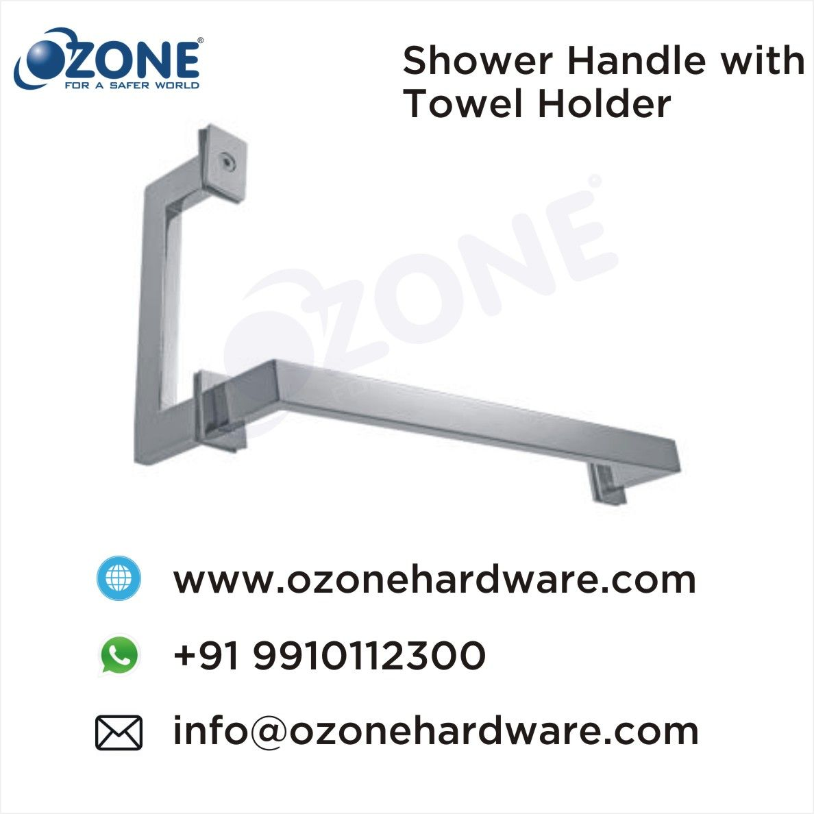 Shower Handle With Towel Holder Towel Bars Handles Shower Cubicles Accessories Bathroom Accessories Towel Holder Cubicle Accessories Towel Bar