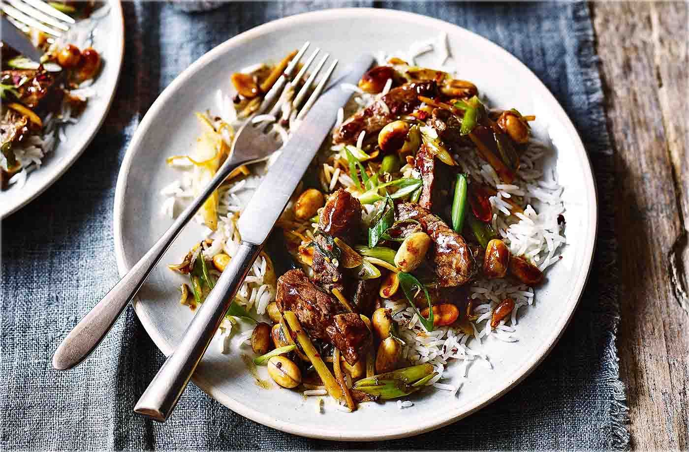 Kung Pao Beef Recipe Chinese Recipes Tesco Real Food Recipe Tesco Real Food Kung Pao Beef Recipe Beef Recipes