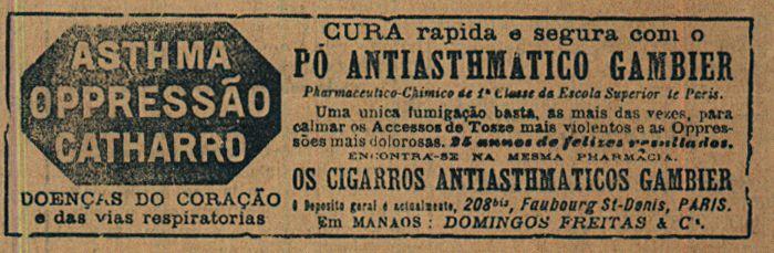 Jornal Amazonas - 15/07/1900
