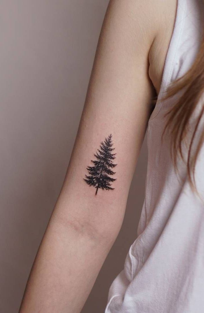 Photo of 50 beautiful and meaningful tree tattoos, inspired by the way of nature, # from …