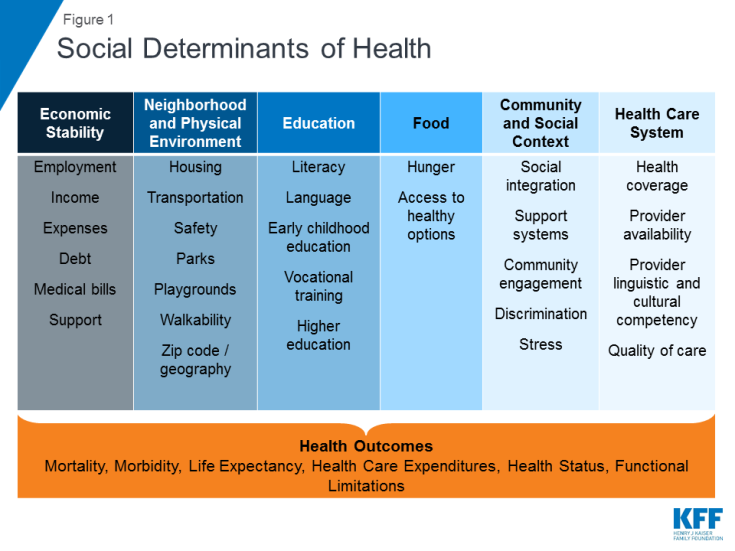 Beyond Health Care The Role Of Social Determinants In Promoting Health And Health Equity The Henr Social Determinants Of Health Health Care Health Education