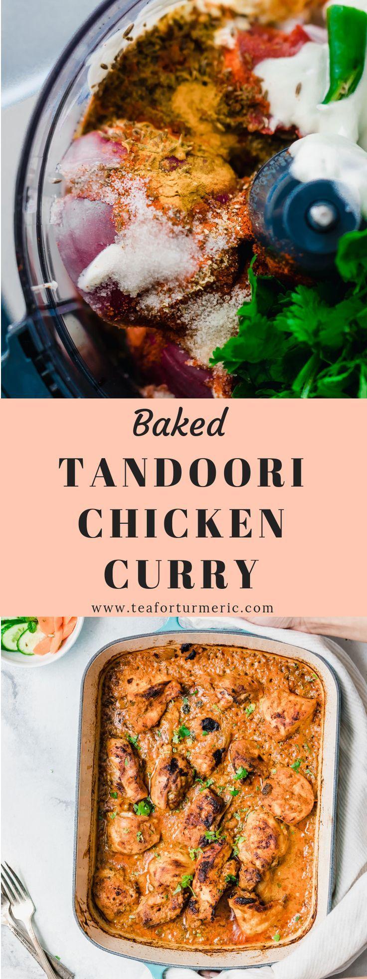 Baked Tandoori Chicken Curry #tandoorichicken