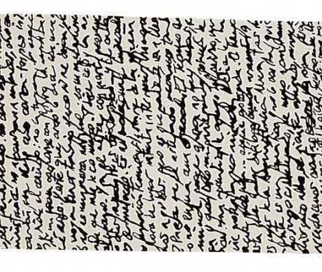 Faced with the challenge of blank paper, some authors capture its very essence on designer rugs.