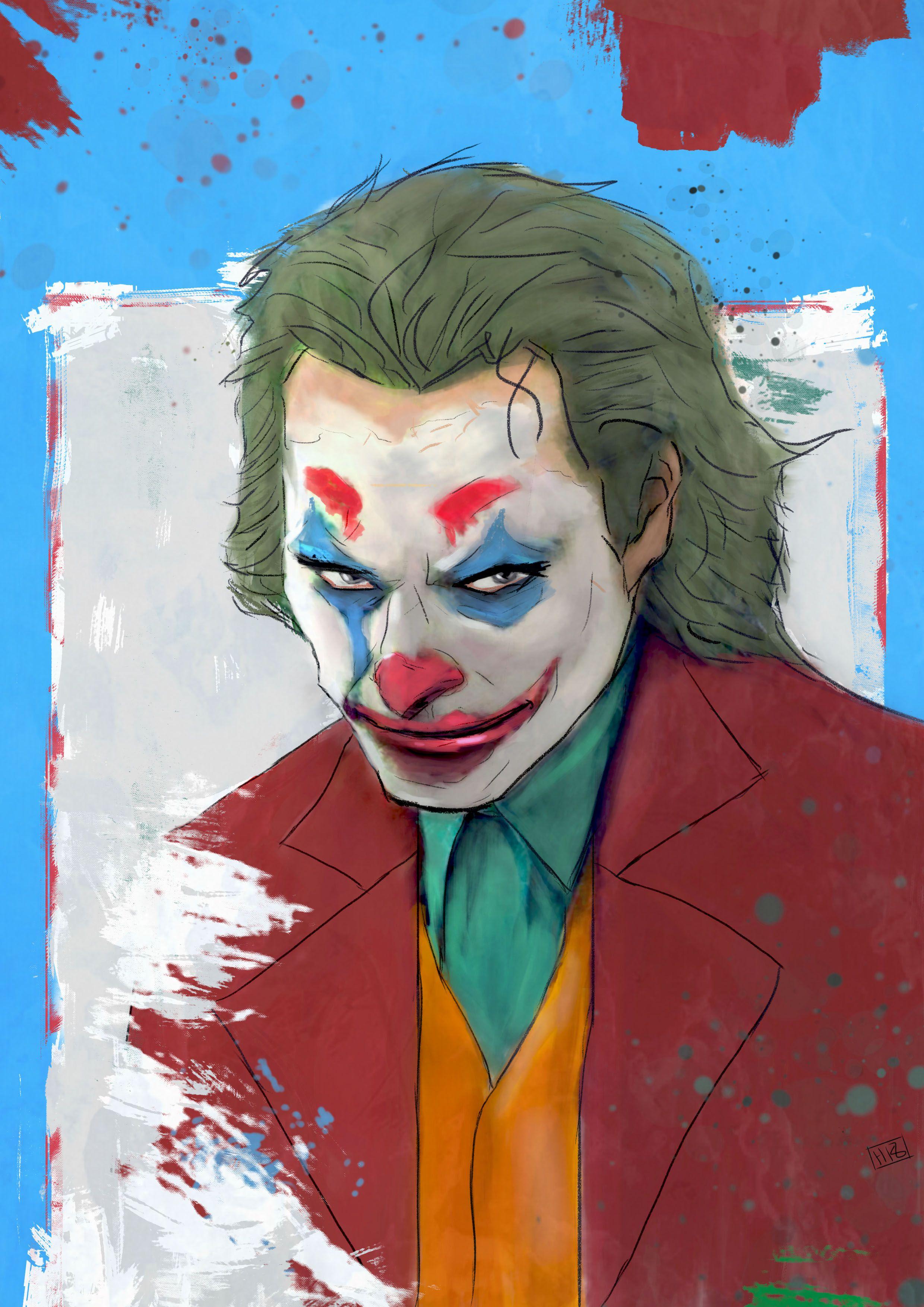 Joaquin Phoenix Joker Fanart Batman Comic Art Joker Art Joker