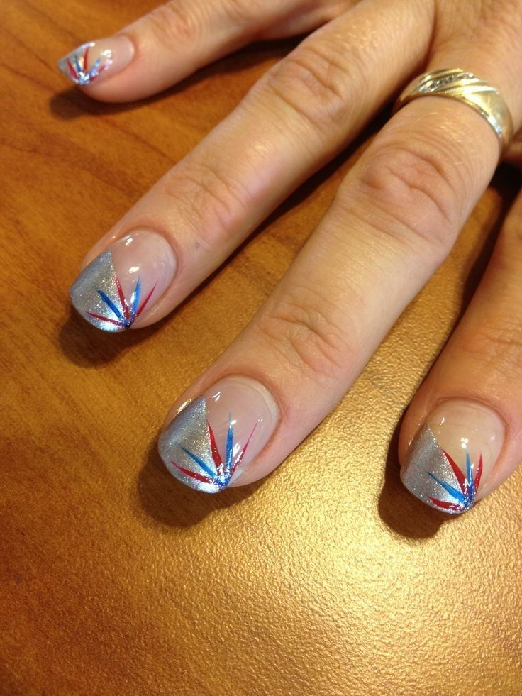30 Patriotic Nail Art Ideas For The Fourth Of July Skinhairand
