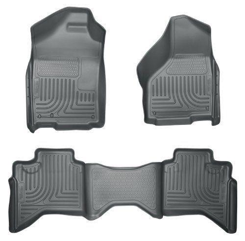 Husky Liners Front 2nd Seat Floor Liners Fits 0208 Ram 1500 Quad Cab Amazon Best Buy Husky Liners Ram 1500 Quad Cab Floor Liners
