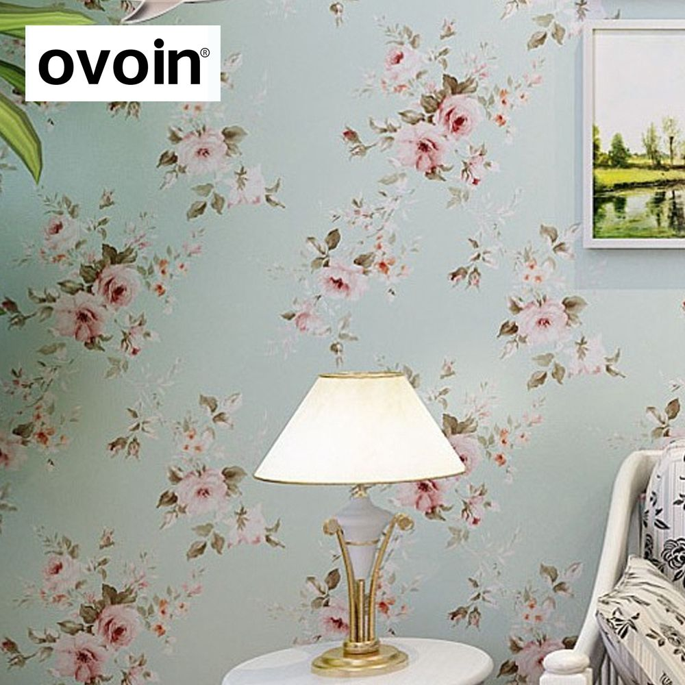 Cheap Floral Wallpaper Buy Quality Wallpaper For Bedroom Walls Directly From China Wallpaper For Wallpaper Walls Bedroom Floral Wallpaper Vinyl Wall Covering