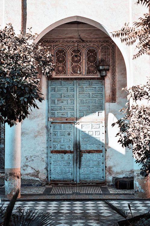 Envers Du Decor Doors Maroc Portes Bleues Portes