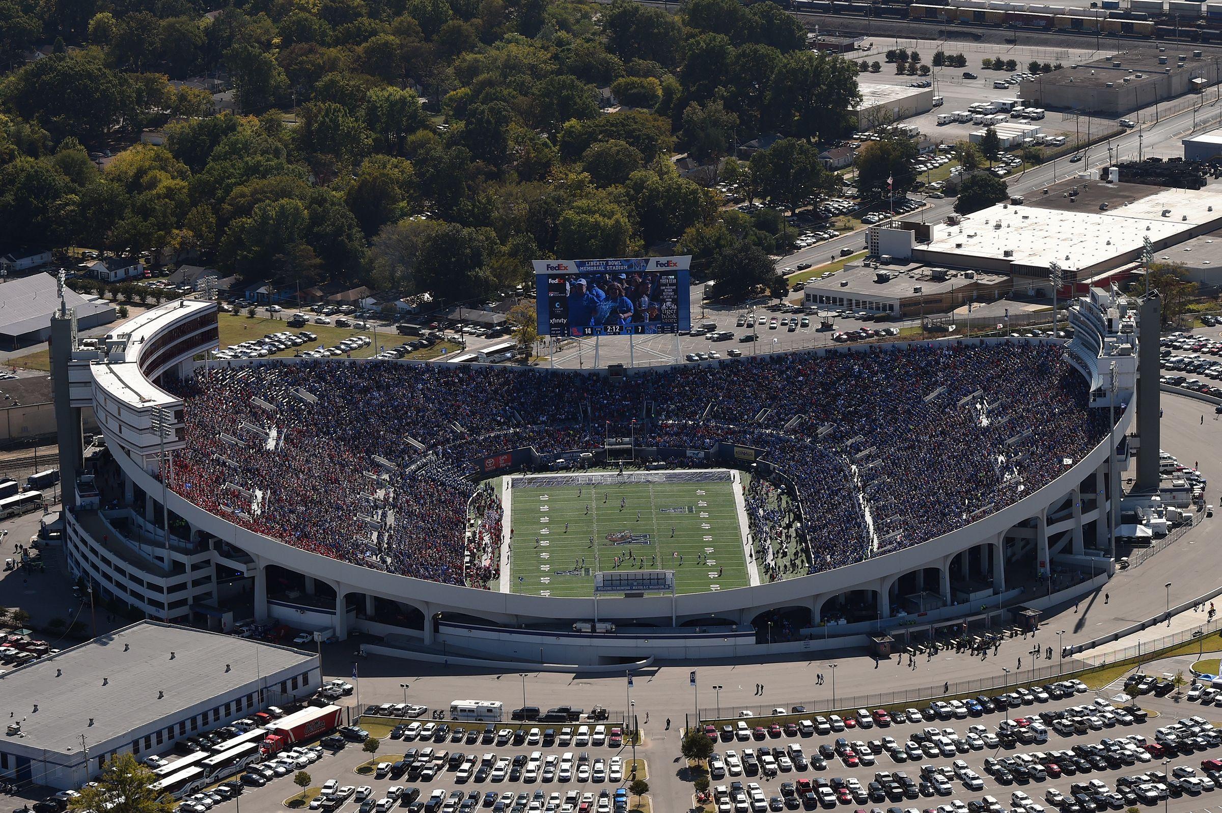 Liberty bowl memorial stadium in 2020 liberty bowl