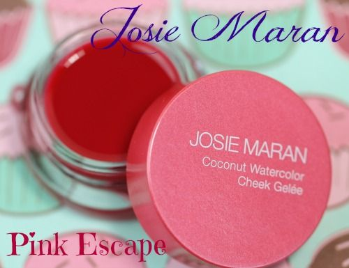 Josie Maran Coconut Watercolor Cheek Gelee Blush In Pink Escape