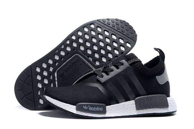 c8fbdf21f Men s Shoes Adidas Originals NMD Black Gray And White