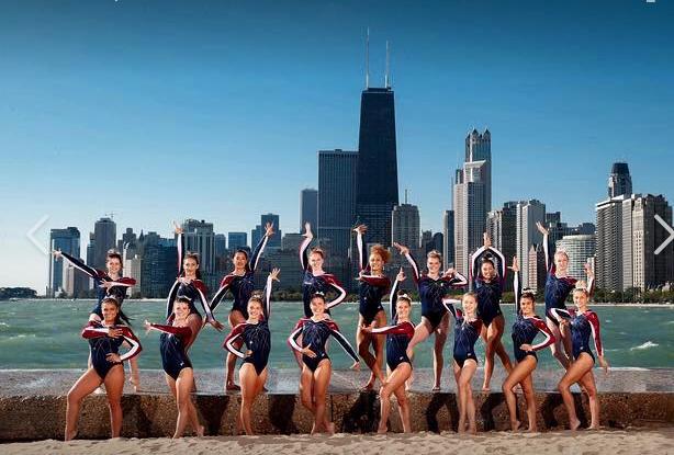 University Of Illinois Chicago Women S Gymnastics Team 2017 2018 Season Uicflames Collegegymnasti Female Gymnast Gymnastics University Of Illinois At Chicago