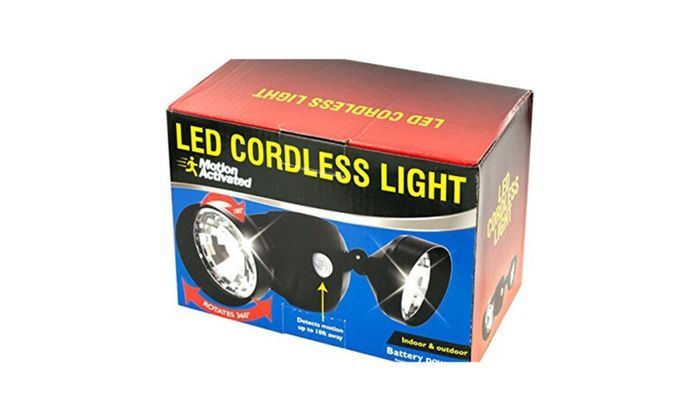8-Packages of Motion Activated Cordless LED Light