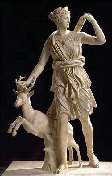 Culture Generale 2 Mythologie Grecque Et Romaine Art Grecque Antique Artemis Deesse